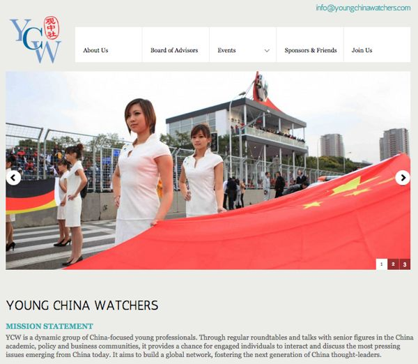 Old YCW website