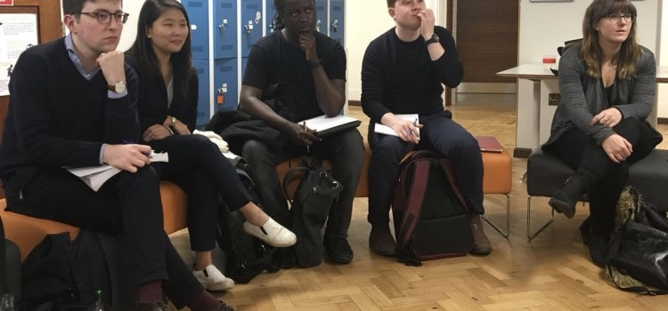 YCW London Mentorship Launch and the First Workshop