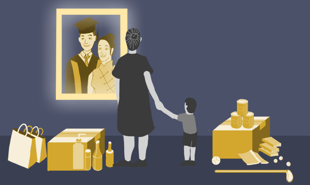 "The ""Modern Chinese Mother,"" illustrated by Joyce Siu"